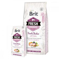 Brit Fresh Chicken with Potato Puppy Healthy Growth - csirke és burgonya