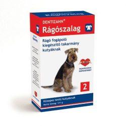 DENTIZAHN rágó-szalag 2 közepes testű kutyák részére