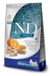 N&D Dog Ocean adult mini cod, spelt, oats & orange (tőkehal, tönköly, zab & narancs)