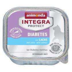 Animonda Integra Protect Diabetes Cat Lazac 100g - nedvestáp túlsúlyos vagy cukorbeteg macskáknak (86688)