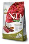 Farmina N&D Canine Grain Free Quinoa Bőr&Szőr száraztáp kacsával
