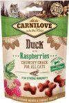 CarniLove Cat Crunchy Snack Duck & Raspberries (kacsa-málna) 50g