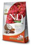 Farmina N&D Canine Grain Free Quinoa Bőr&Szőr száraztáp heringgel