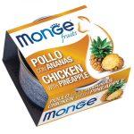 Monge Fruit Ananász-Csirke 80g