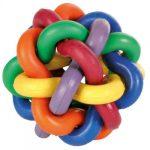 trixie 32622 gumi csomólabda 10cm
