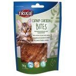 Trixie 42742 Premio Catnip Chicken Bits - jutalomfalat csirke, macskamenta 50g