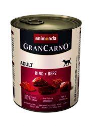 Animonda GranCarno Adult 800g marha-kacsaszív (82740)