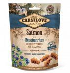 Carnilove Dog Crunchy Snack Lazac Vörösáfonyával 200g