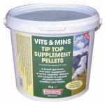 Equimins Tip Top vitamin – Tip Top koncentrált vitamin pellett