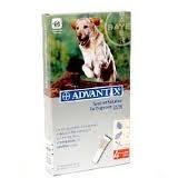 Advantix spot on 4ml kutyáknak 25-40kg között 4x1db