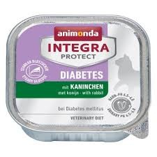 Animonda Integra Protect Diabetes Cat 100g nyúlas