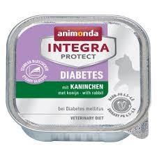Animonda Integra Protect Diabetes Cat Nyúl 100g - nedvestáp túlsúlyos vagy cukorbeteg macskáknak (86689)