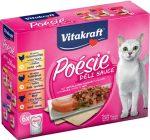 Vitakraft Poésie Déli Sauce - nedvestáp (csirke,pulyka,marha) macskák részére (7x85g)