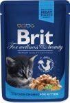 Brit Premium Cat Chicken Chunks for Kitten 100g alutasakos