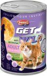 Panzi GetWild Cat Adult Fish & Apple 415g