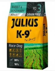 Julius K-9 GF Race Dog Adult Nyúl rozmaring 340g