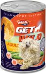 Panzi GetWild Adult Beef & Apple konzerv