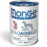Monge MONOPROTEIN 100% bárány pástétom 400g