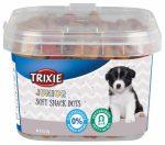 Trixie 31519 Junior Soft Snack - jutalomfalat (csirke,lazac) kölyökkutyák részére