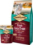 Carnilove Fresh Adult Cat Carp & Trout Sterilised (ponty-pisztráng)