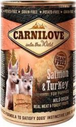 CarniLove Puppy Salmon & Turkey  400g
