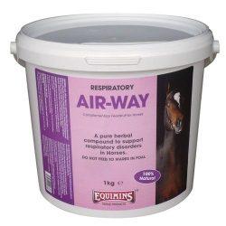 Equimins Air Way Herbs légúttisztító gyógynövények keveréke 1kg vödrös