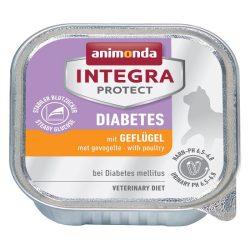 Animonda Integra Protect Diabetes macska baromfi 100g - nedvestáp túlsúlyos vagy cukorbeteg macskáknak (86837)