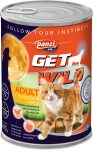Panzi GetWild Cat Adult Chicken & Apple 415g