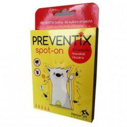 Preventix Spot On macskáknak 5x1 ml