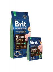 Brit Premium by Nature Junior Extra Large kutyatáp