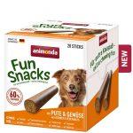 Animonda Fun Snack (pulyka és zöldség) jutalomfalat - kutyák részére (20db) 500g