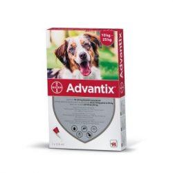 Advantix spot on 2,5ml kutyáknak 10-25kg 1db