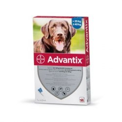 Advantix spot on 4ml  kutyáknak 25-40kg között 1db