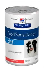 Hill's PD Canine d/d Salmon & Rice 370g