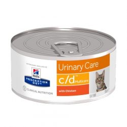 Hill's PD Feline c/d Minced Chicken 156 g