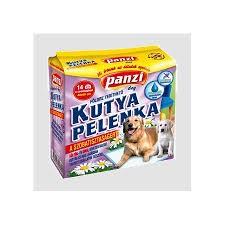 Panzi Helyhez szoktató kutyapelenka 40x60cm 7db