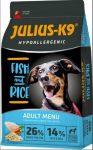 Julius-K9 Hypoallergenic Adult - Fish & Rice 3kg