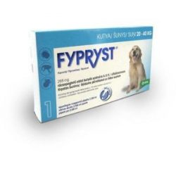 Fypryst spot on 2,68ml kutyák részére 20-40kg között 1db