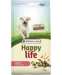 Versele- Laga Happy Life Adult Lamb kutyának 15kg (431101)