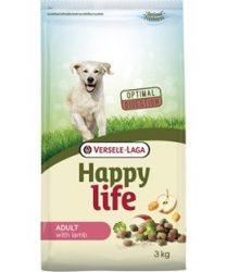 Versele- Laga Happy Life Adult Lamb kutyának 15kg (431101)