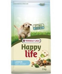 Versele- Laga Happy Life Junior Chicken kutyának 10kg (431040)