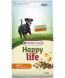 Versele- Laga Happy Life Adult Beef kutyának 15kg (431104)