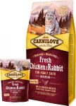 Carnilove Fresh Adult Cat Chicken & Rabbit Gourmand (csirke-nyúl)