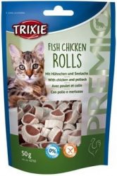 Trixie42702 Premio Rolls hal-csirke falatkák 50g