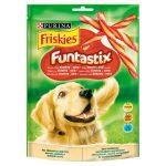 Friskies Funtastix bacon és sajt ízesítésű kiegészítő állateledel felnőtt kutyák számára 175g