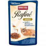 Animonda Rafiné Soupe Adult lazac és garnélarák gyógynövényszószban 100g (83800)