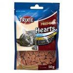 Trixie42705 Premio Hearts Kacsás lazacos falatkák 50g