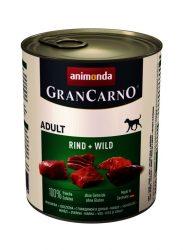 Animonda GranCarno Adult 800g marha-vadhús (82745)