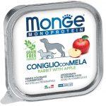 Monge MONOPROTEIN 100% nyúl és alma pástétom 150g