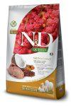 Farmina N&D Canine Grain Free Quinoa Bőr&Szőr száraztáp fürj